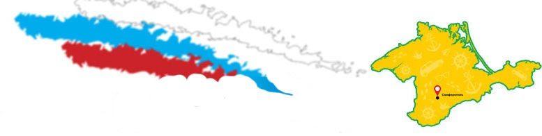 карта Мир в Крыму