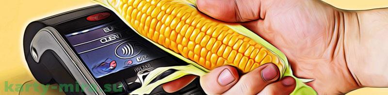 где пополнить карту кукуруза